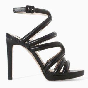 ZARA BASIC Strappy Sandal Stiletto Heels
